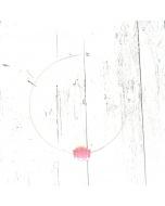 Collarino con Ciondolo in Ceramica 'vaccaredda' rosa
