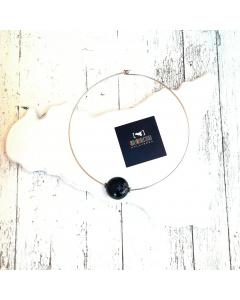 Collana girocollo sfera #nerolavadelletna