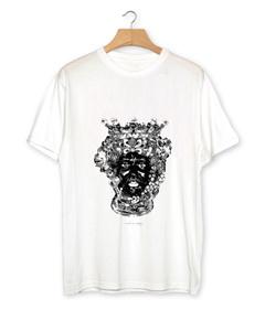 "T-shirt uomo ""Testa di Moro B/N"" manica corta"