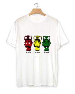 """T-shirt uomo """"Vedo, Sento, Parlo"""" manica corta"""