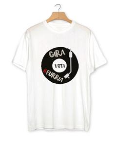 """T-shirt uomo """"Gira vota e furria"""" manica corta"""